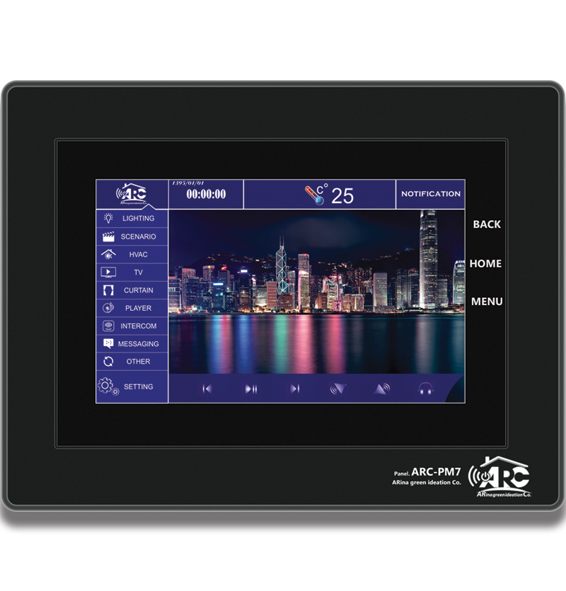 Full 7 inch Touch Panel